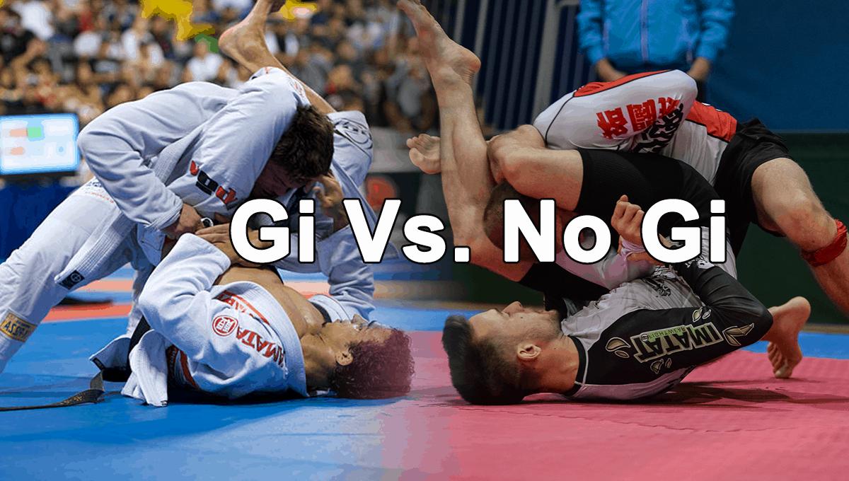 Gi vs No-Gi Jiu Jitsu - Which Style Should I Train For?